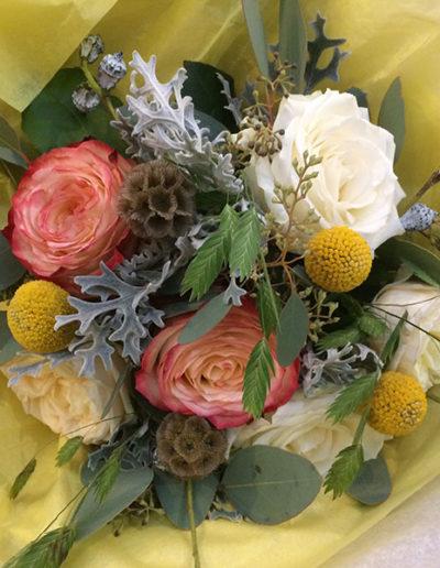 Bouquet bohème ton pastel